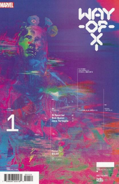 Way of X #1 1:10 Tom Muller RI Design Variant Marvel 2021
