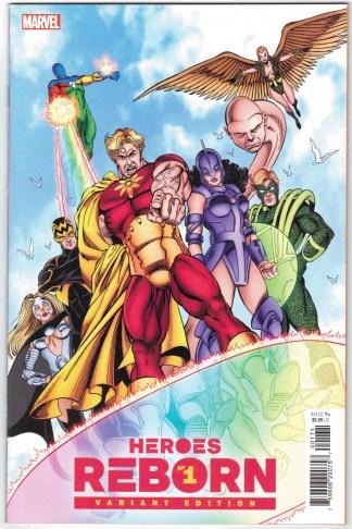Heroes Reborn #1 1:100 George Perez Hidden Gem Variant Marvel 2021 VF/NM