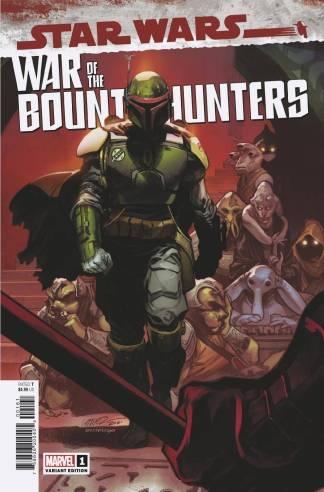 Star Wars War of the Bounty Hunters #1 1:50 Pepe Larraz Variant Marvel -Ships 6/3/2021
