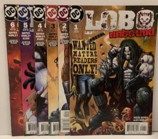Lobo Unbound #1-6 Complete Set DC 2003 VF/NM