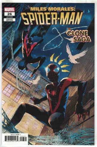 Miles Morales Spider-Man #26 1:25 Vicentini Variant Marvel 2019 Clone Saga VF/NM