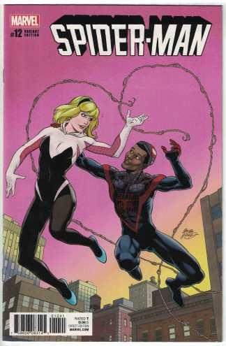 Spider-Man #12 1:25 McLeod Variant Marvel 2016 Bendis VF/NM
