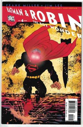 All Star Batman and Robin the Boy Wonder #4 Frank Miller Variant DC 2005 VF/NM