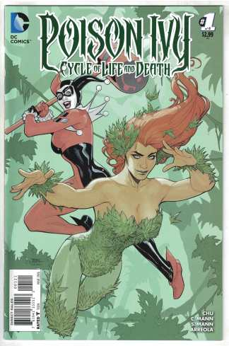 Poison Ivy Cycle of Life and Death #1 1:25 Dodson Variant DC 2015 VF/NM