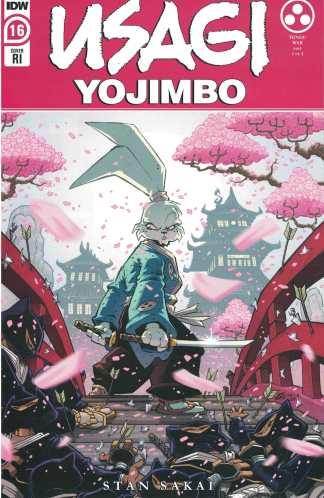 Usagi Yojimbo #16 1:10 Sommariva Variant IDW 2019 Sakai
