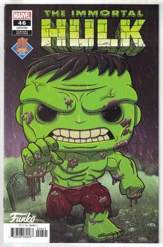Immortal Hulk #46 Previews Funko Pop Variant Marvel 2018 VF/NM Ewing