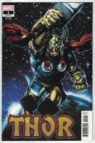 Thor #1 1:50 Stegman Variant Marvel 2020 VF/NM Cates