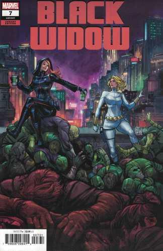 Black Widow #7 1:25 Zitro Variant Marvel 2020
