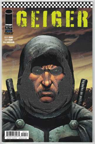 Geiger #1 Gary Frank Glow in the Dark Variant Image 2021 Geoff Johns VF/NM