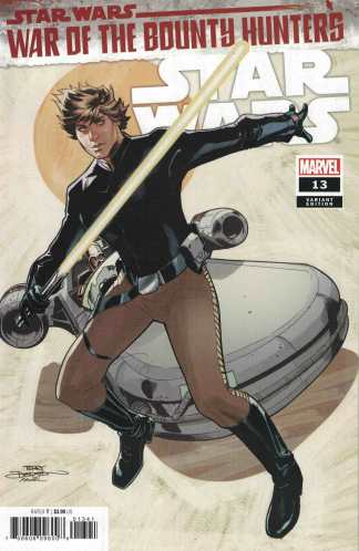 Star Wars #13 1:25 Terry Dodson Variant War of Bounty Hunters Marvel 2021