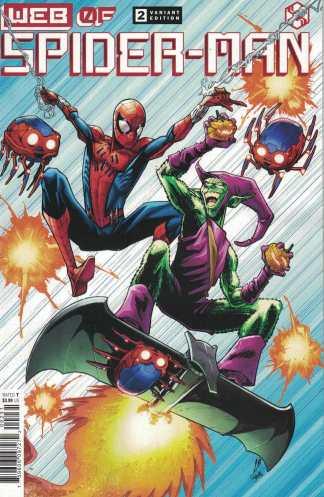 Web of Spider-Man #2 Alburquerque Cover B Marvel 2021