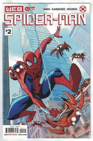 Web of Spider-Man #2 Gurihiru Cover A Marvel 2021 VF/NM