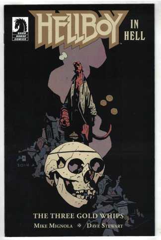 Hellboy in Hell #5 Mignola ComicsPro Dark Horse 2012 VF Three Gold Whips