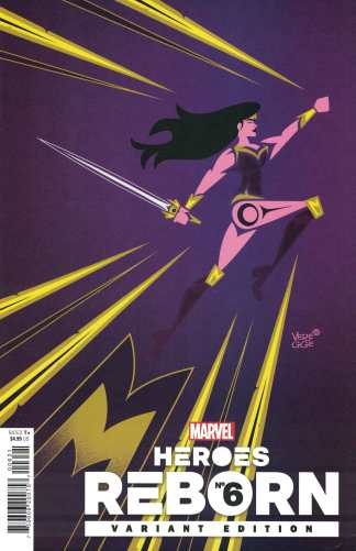 Heroes Reborn #6 1:50 Veregge Variant Marvel 2021