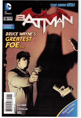 Batman #19 Digital Combo Variant UNBAGGED DC New 52 Scott Snyder 2011 VF/NM