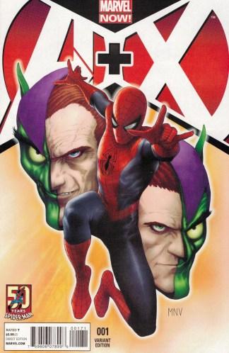A Plus X #1 Steve McNiven Variant Marvel 2012 A+X X-Men Avengers