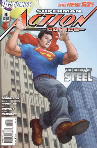 Action Comics #4 Mike Choi Limited Variant DC 2011 New 52