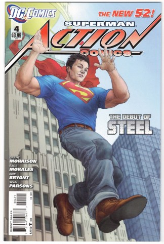 Action Comics #4 Mike Choi Limited Variant DC 2011 New 52 VF/NM