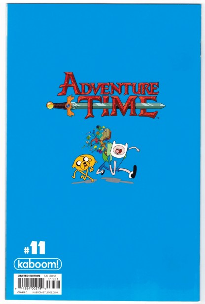 Adventure Time #11 1:15 Logan Faerber Virgin Variant Cover C 2012 VF/NM