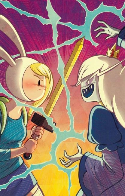 Adventure Time Fionna & Cake #4 1:25 Faith Erin Hick Variant 2012