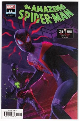 Amazing Spider-Man #55 1:10 Brian Horton Variant Marvel 2018 VF/NM