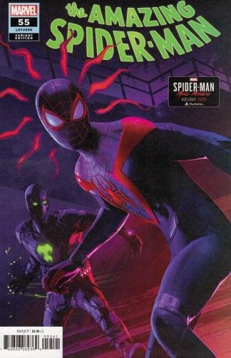 Amazing Spider-Man #55 1:10 Brian Horton Variant Marvel 2018
