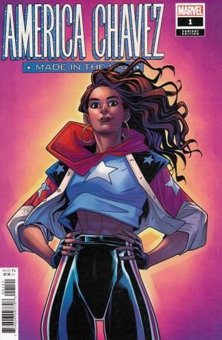 America Chavez Made In The USA #1 1:25 Elizabeth Torque Marvel 2020