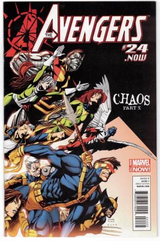Avengers #24.NOW Kris Anka Disassembled Homage Marvel 2013 VF/NM