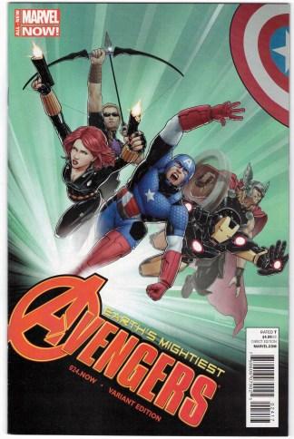 Avengers #24.NOW Christopher Astonishing X-Men Homage Marvel 2013 VF/NM
