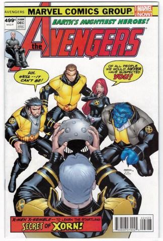 Avengers #24.NOW Barberi New X-Men Variant 2013 VF/NM