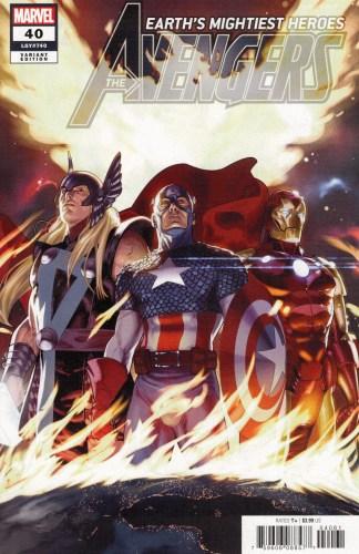 Avengers #40 1:25 Taurin Clarke Variant Enter the Phoenix Marvel 2018