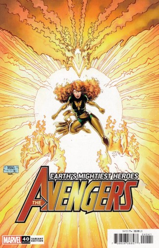 Avengers #40 1:50 Art Adams Variant Marvel 2018 Enter the Phoenix