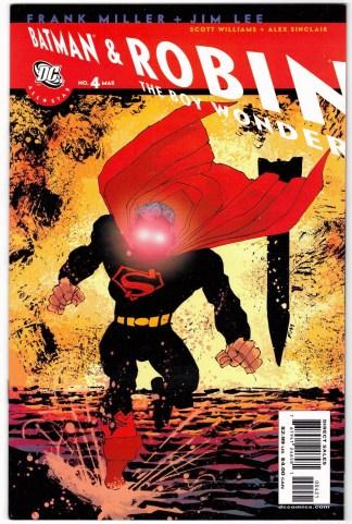 All-Star Batman and Robin the Boy Wonder #4 Frank Miller Variant DC 2005 VF/NM