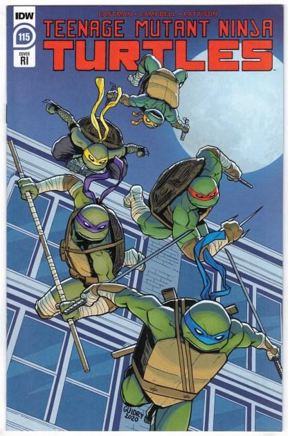 Teenage Mutant Ninja Turtles #115 1:10 Gavin Guidry Variant IDW 2011 VF/NM