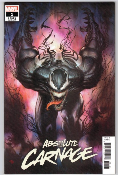 Absolute Carnage #1 1:25 Adi Granov Codex Variant Marvel 2019 Donny Cates VF/NM