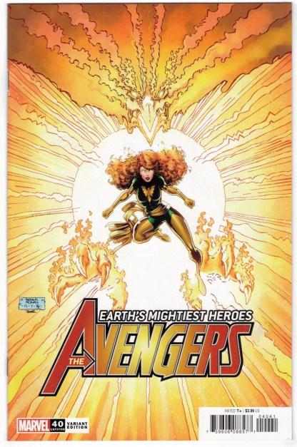 Avengers #40 1:50 Art Adams Variant Marvel 2018 Enter the Phoenix VF/NM