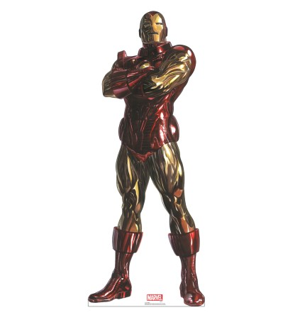 Alex Ross Marvel Timeless Collection Cardboard Standups -- Iron Man