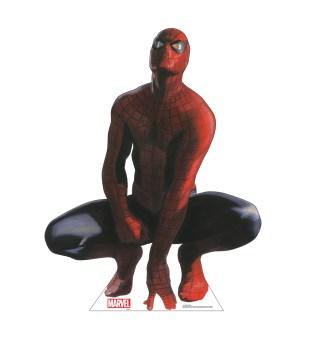 Alex Ross Marvel Timeless Collection Cardboard Standups -- Spider-Man