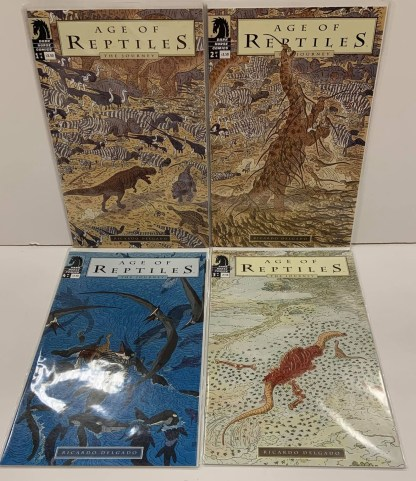 Age of Reptiles The Journey Complete Set #1-4 Dark Horse 2009 VF/NM