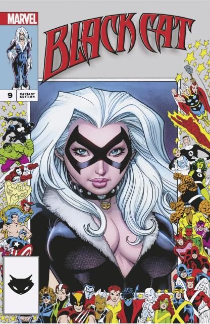 Black Cat #9 Ultimate Exclusive Art Adams Marvel Anniversary Frame Variant 8/18