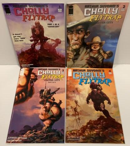 Cholly and Flytrap #1-3 Complete Set Arthur Suydam Marvel 2004 VF/NM