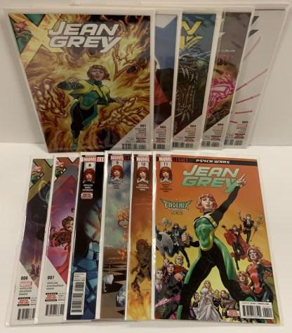 Jean Grey #1-11 Complete Set Marvel 2017 X-Men VF/NM