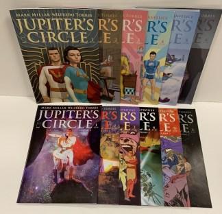 Jupiter's Circle Vol 1 #1-6 & Vol 2 #1-6 Complete Sets Millarworld Legacy VF/NM