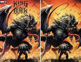 King in Black #4 Kirkham Unknown Comics Dragon Trade/Virgin SET Marvel 2020 NM