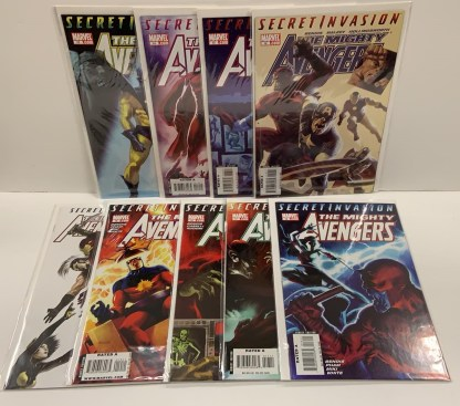 Mighty Avengers #12-20 Secret Invasion Tie-In New Warriors Marvel 2008 VF/NM