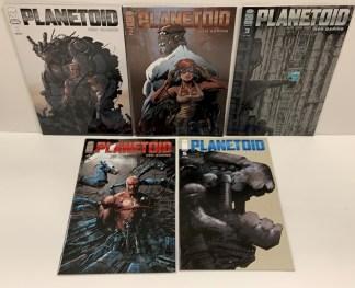 Planetoid #1-5 Complete Set Ken Garing Image 2012 VF/NM