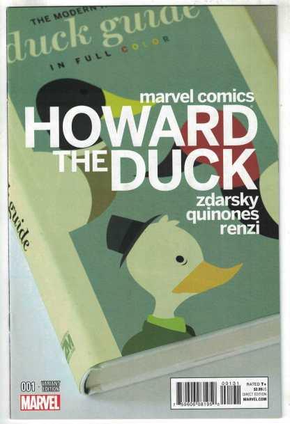 Howard the Duck #1 1:25 Zdarsky Variant Marvel 2015 VF/NM