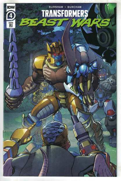 Transformers Beast Wars #4 1:10 Khanna Variant IDW 2021 VF/NM