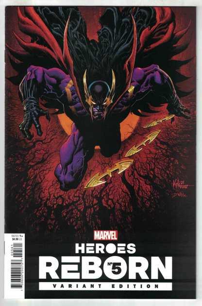 Heroes Reborn #5 1:25 Hotz Variant Marvel 2021 VF/NM