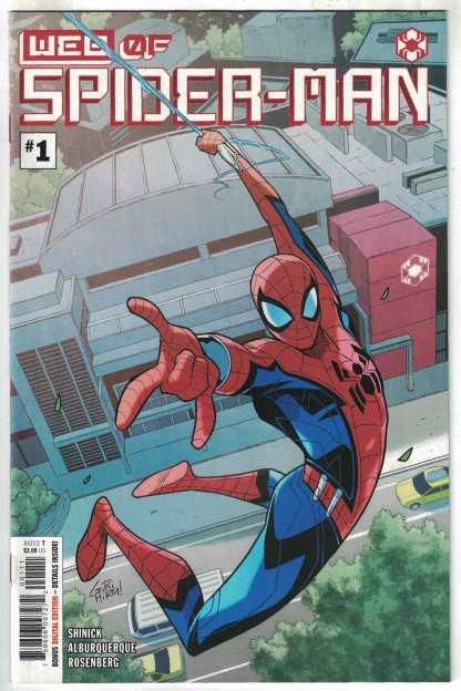 Web of Spider-Man #1 Gurihiru 1st Print A CVR Marvel 2021 1st Keener VF/NM
